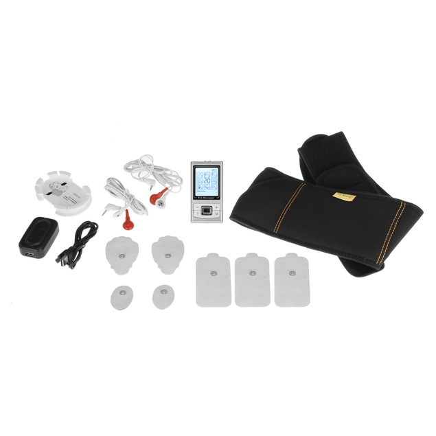 PCH Digital Pulse Massager 3 AB Belt Combo Set