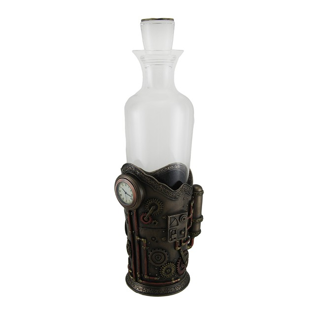 Time For Spirits Glass Spirit Decanter In Liquor Decanters