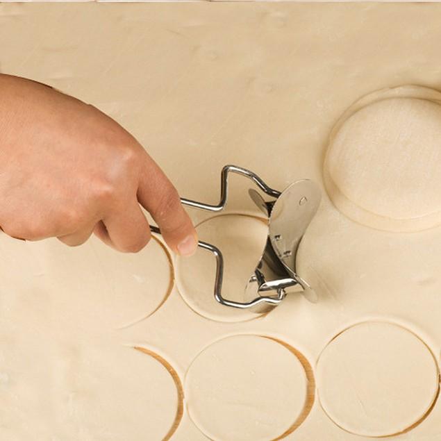 Fondant Icing Spatula Cookie Cutting Blade Dough Circle Cutter