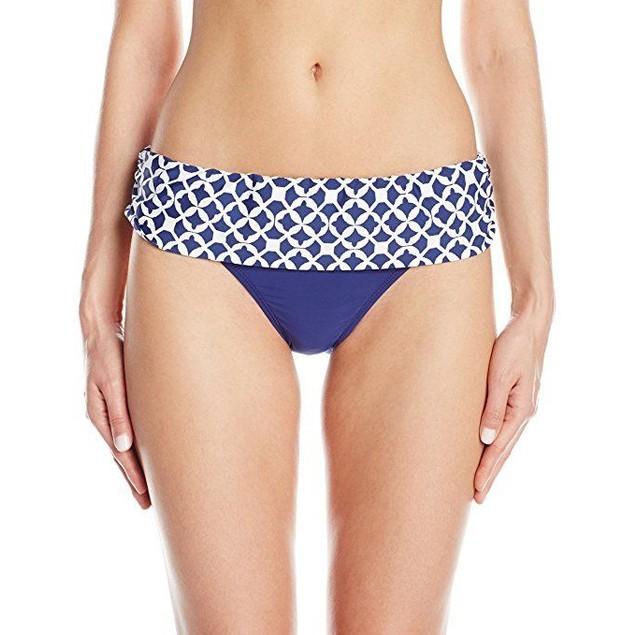 Athena Women's Coastal Geo Banded Bikini Bottom SZ: 16