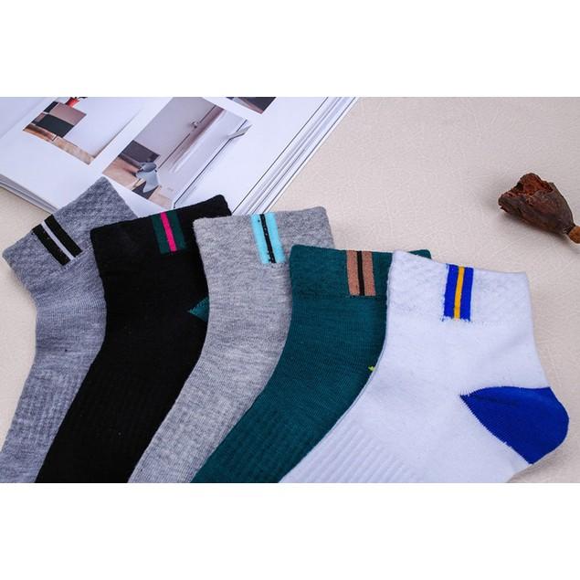 5pairs Men Casual arm Socks Winter Sport Socks Men Cotton Splice Sock