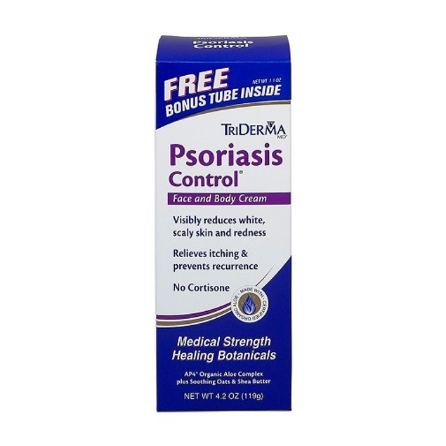 TriDerma MD Psoriasis Control Face Scalp & Body Lotion