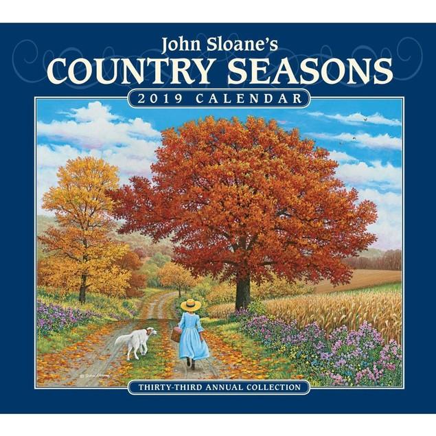 Country Seasons Wall Calendar, More Folk Art by Calendars
