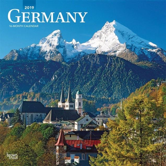 Germany Deutschland Wall Calendar, Germany by Calendars