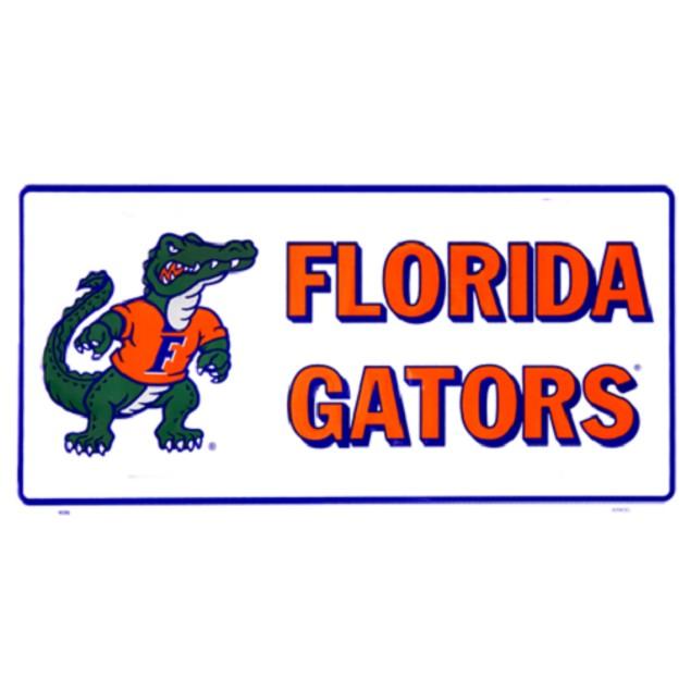 Florida Gators NCAA License Mascot Plate