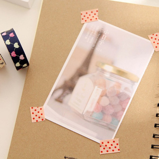 8Pcs DIY Cute Cartoon Tape Sticker Paper Dots for Scrapbooking Decoration