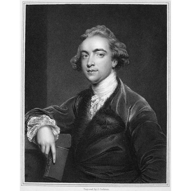 Sir William Jones /N(1746-1794). English Orientalist And Jurist. Stipple En