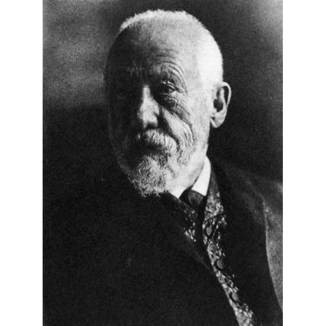 Wilhelm Dilthey /N(1833-1911). German Philosopher. Poster