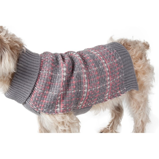Vintage Symphony Static Fashion Knitted Dog Sweater