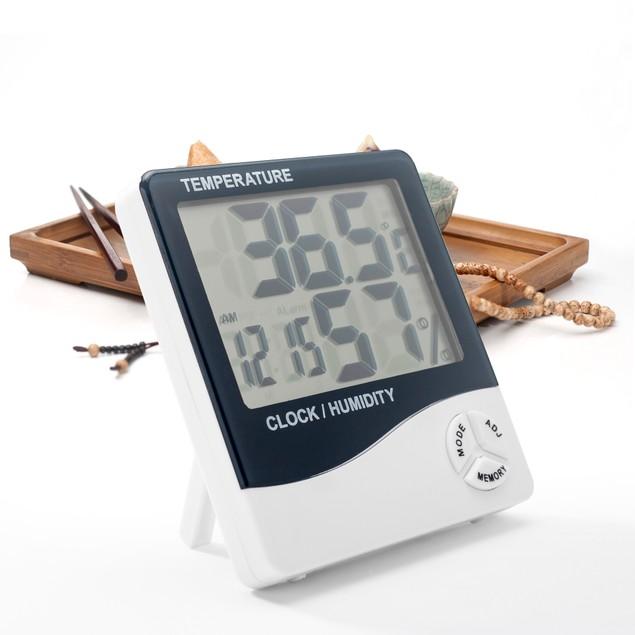 Large Display Digital Thermometer Humidity Temperature Monitor