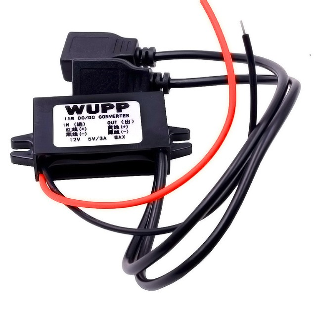 Dual USB Car Boat Motorcycle Charger Power Adapter Supply