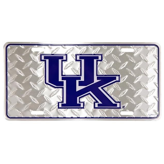 "Kentucky Wildcats NCAA ""Diamond"" License Plate"