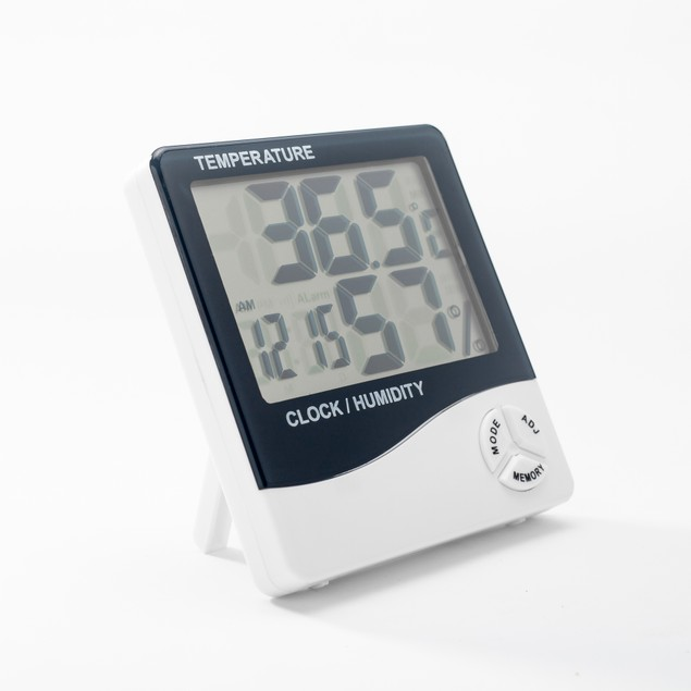 Large Display Digital Thermometer Humidity Temperature Monitor