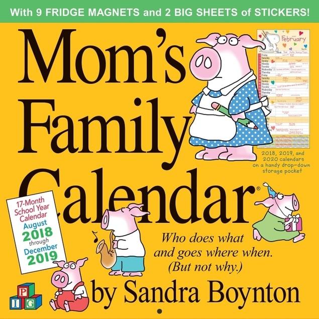 Moms Family Wall Calendar, Family Organizer by Calendars