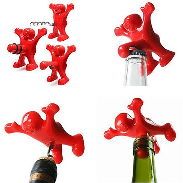 Fun Man Wine or Bottle Opener