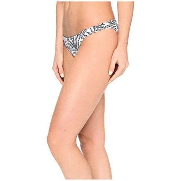 Volcom Women's Leaf Me Alone Full Bikini Bottom SIZE SMALL