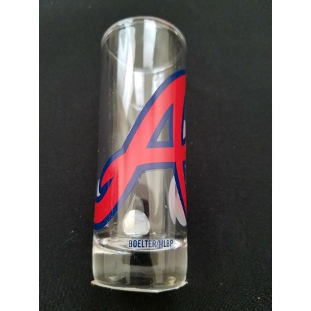 "Atlanta Braves MLB ""Hype"" Tall Shot Glass"