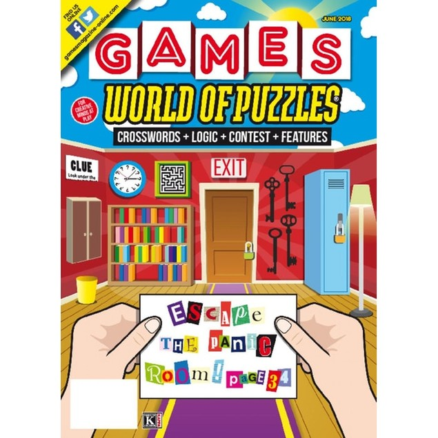 Games World of Puzzles Magazine Subscription