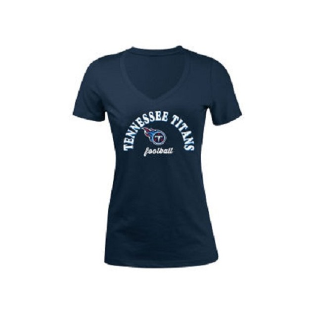 Tennessee Titans NFL Women's Checkdown T-Shirt