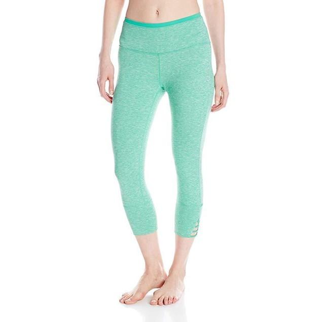 prAna Women's Tori Capri Pant, Cool Green, Large