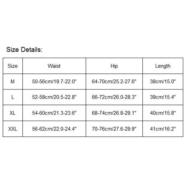 High Waist Shapewear Corset Tummy Control Abdomen Pant Underwear