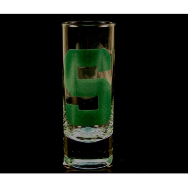 "Michigan State Spartans NCAA ""Hype"" Tall Shot Glass"