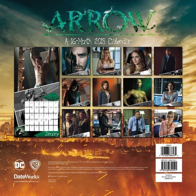 Arrow Wall Calendar, Drama TV by Trends International