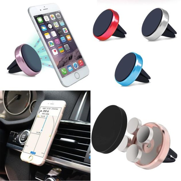 360 Car Air Vent Mount Magnetic Cradle Holder Stand For Samsung Phone