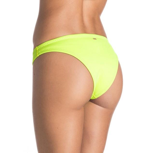 Roxy Optic Nature Surfer Bottom (limeade) Women's Swimwear SZ: S