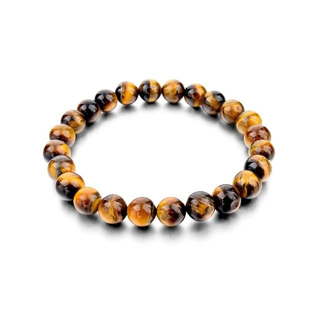 Novadab Tiger Eye Boho Beaded Bracelet