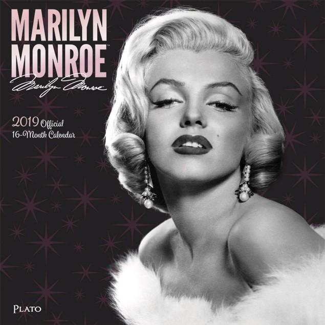Marilyn Monroe Plato Wall Calendar, Female Movie Stars by Calendars