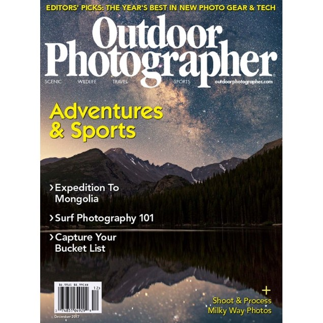 Outdoor Photographer Magazine Subscription