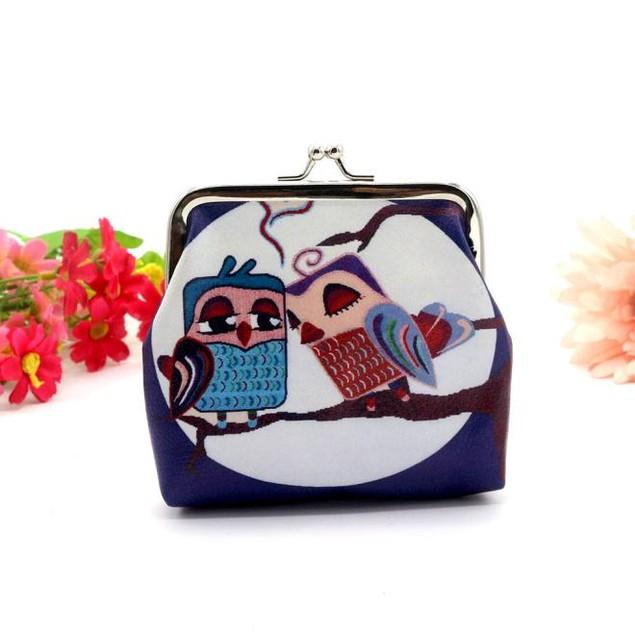 Women's Owl Purse Clutch