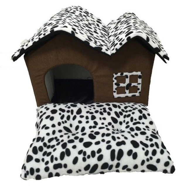 Cushion Pet House with Mat Blanket
