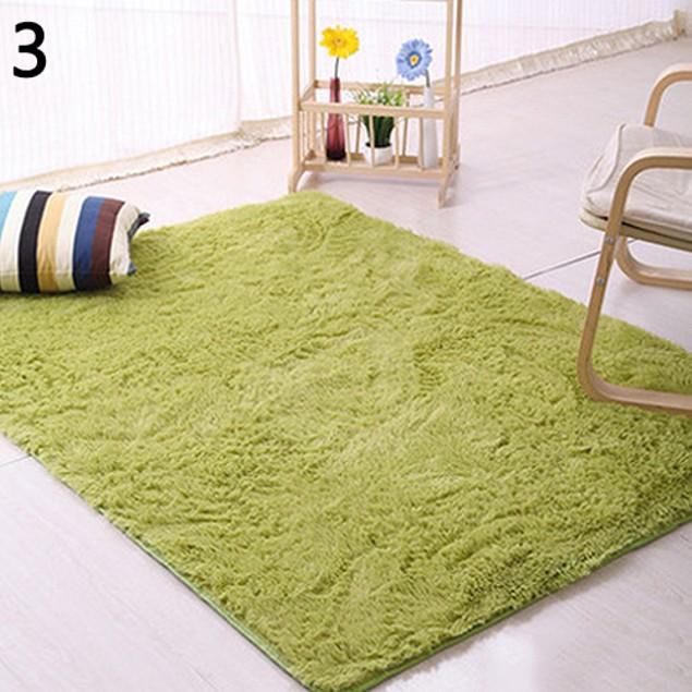 Modern Candy Color Soft Anti-Skid Carpet Flokati Shaggy Rug
