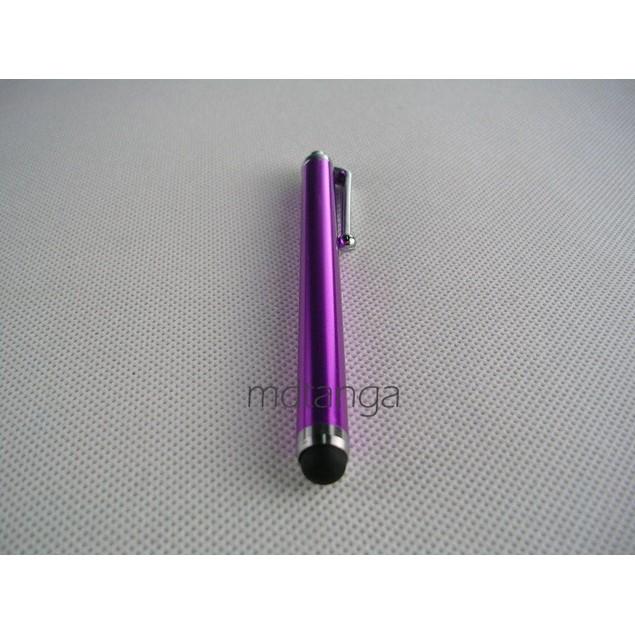 1 pc Purple Capacitive Aluminum Stylus Pen For Touchscreen Smartphone