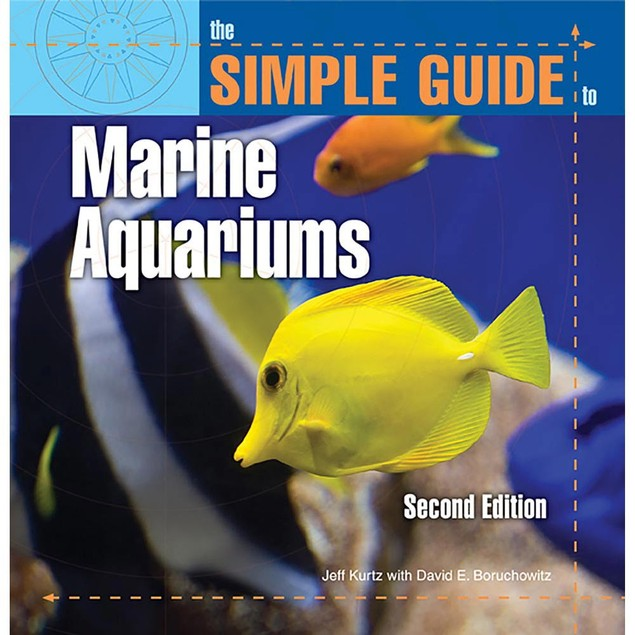 Simple Guide to Marine Aquariums Book, Sea Life by TFH Publications