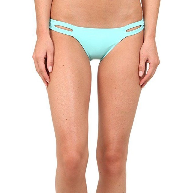 Vitamin A Women's Seaglass California Tab Side Bikini Bottom Sz:10