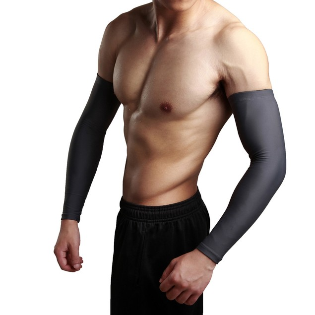 Sun Protection Arm Cooling Warmers Cuffs UV Protection Mens Sleeves