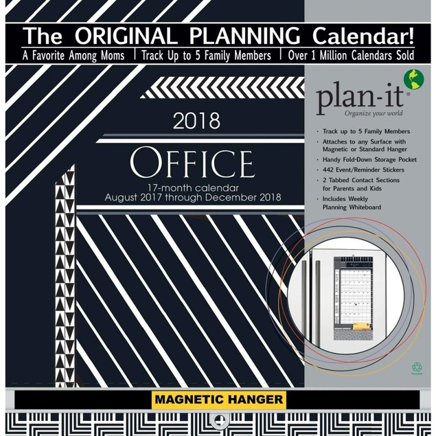 Office Plan It Plus Wall Calendar, Office Organizer by Avalanche Publishing