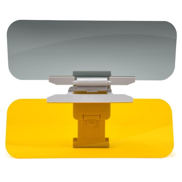 Premium Polarized Anti-Glare Car Visor - Wide Sun Coverage & Shade