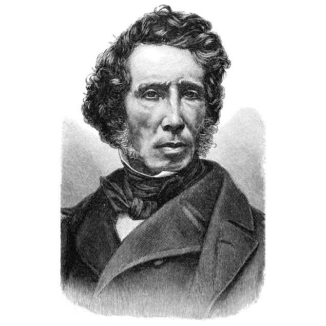 Friedrich W_hler (1800-1882). /Ngerman Chemist. Line Engraving, 19Th Centur