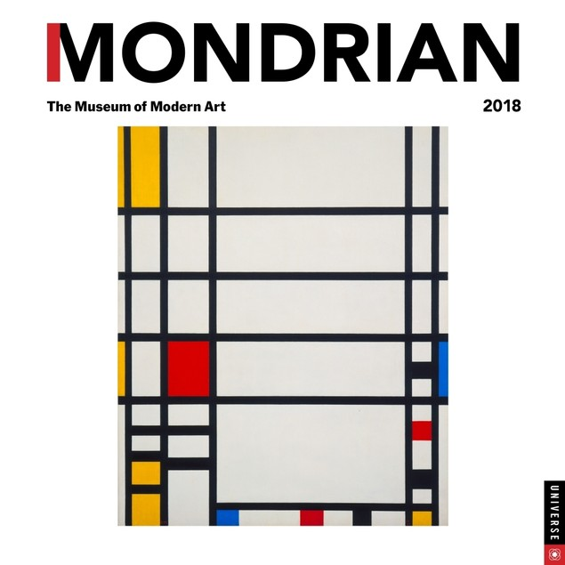Mondrian Wall Calendar, Fine Art by Andrews McMeel Publishing