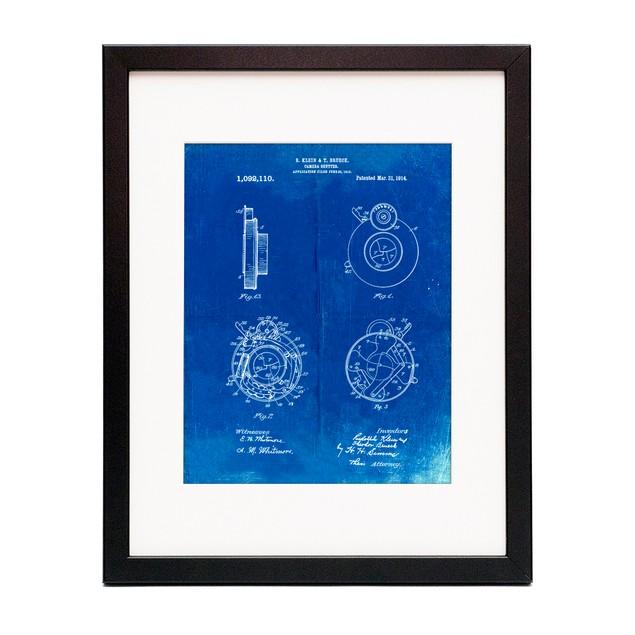Microscope Patent Poster