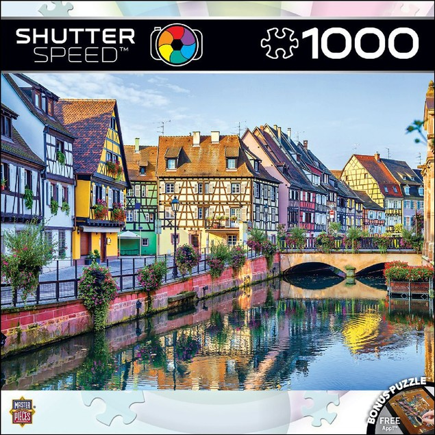 Shutterspeed - Delightful Afternoon 1000 Piece Puzzle, 1,000 Piece Puzzles