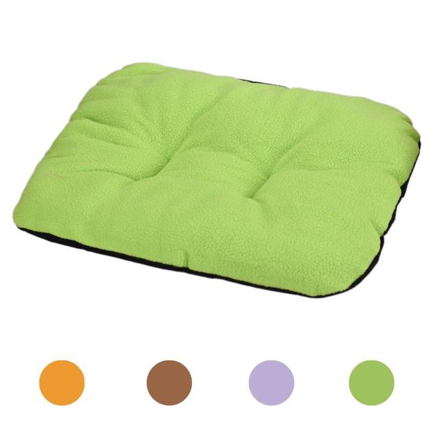 Dog Blanket Pet Cushion Dog Cat Bed Soft Warm Sleep Mat