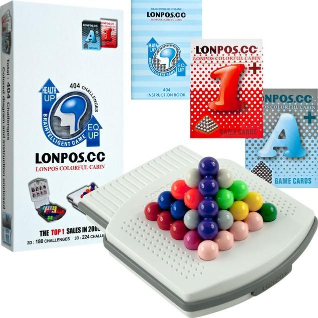 LONPOS 404 Brain Intelligence Puzzle Game