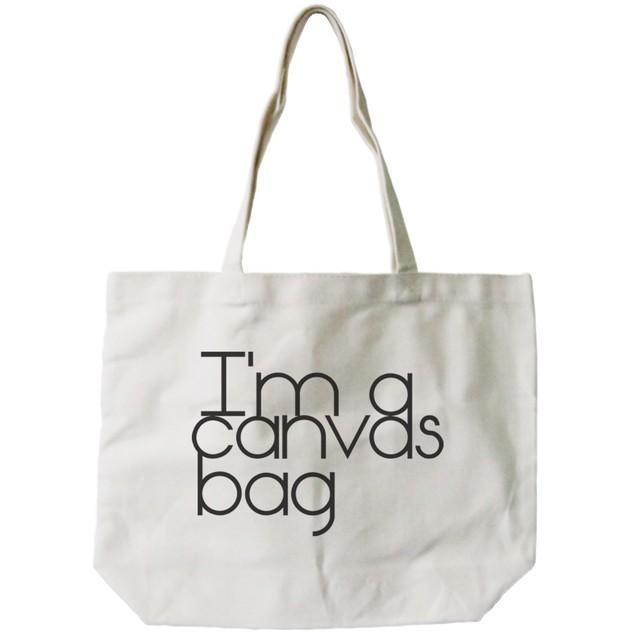 I'm a Canvas Bag Eco-friendly Tote Bag