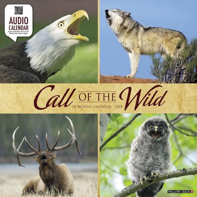 Call of the Wild Wall Calendar, Wildlife by Calendars