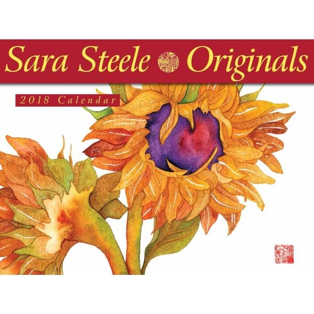 Steele Wall Calendar, Flower Art by Calendars